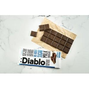 Diablo Tatlandırıcılı Şeker İlavesiz Sütlü Çikolata 85gr