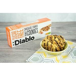Diablo Yer Fıstığı ve Çikolatalı Şekersiz Kurabiye 150 gr