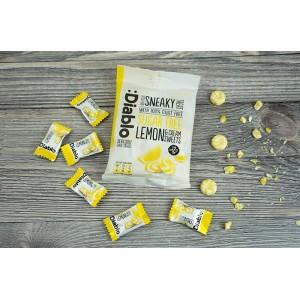 Diablo Kreama ve Limon Aromalı Tatlandırıcılı Şekersiz Şeker 75 gr
