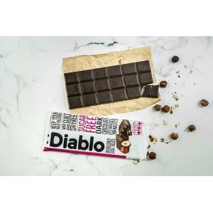 Diablo Tatlandırıcılı ve Şekersiz Fındıklı Bitter Çikolata 85 gr